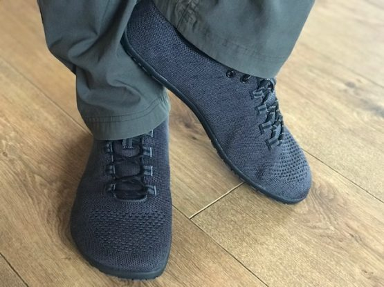lifestyle pic of male wearing Pace shoe