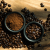 coffee beans and granules